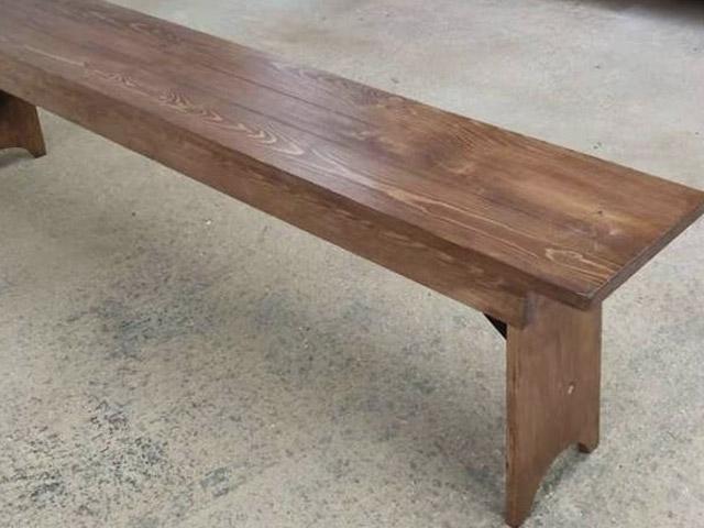 rustic-bench